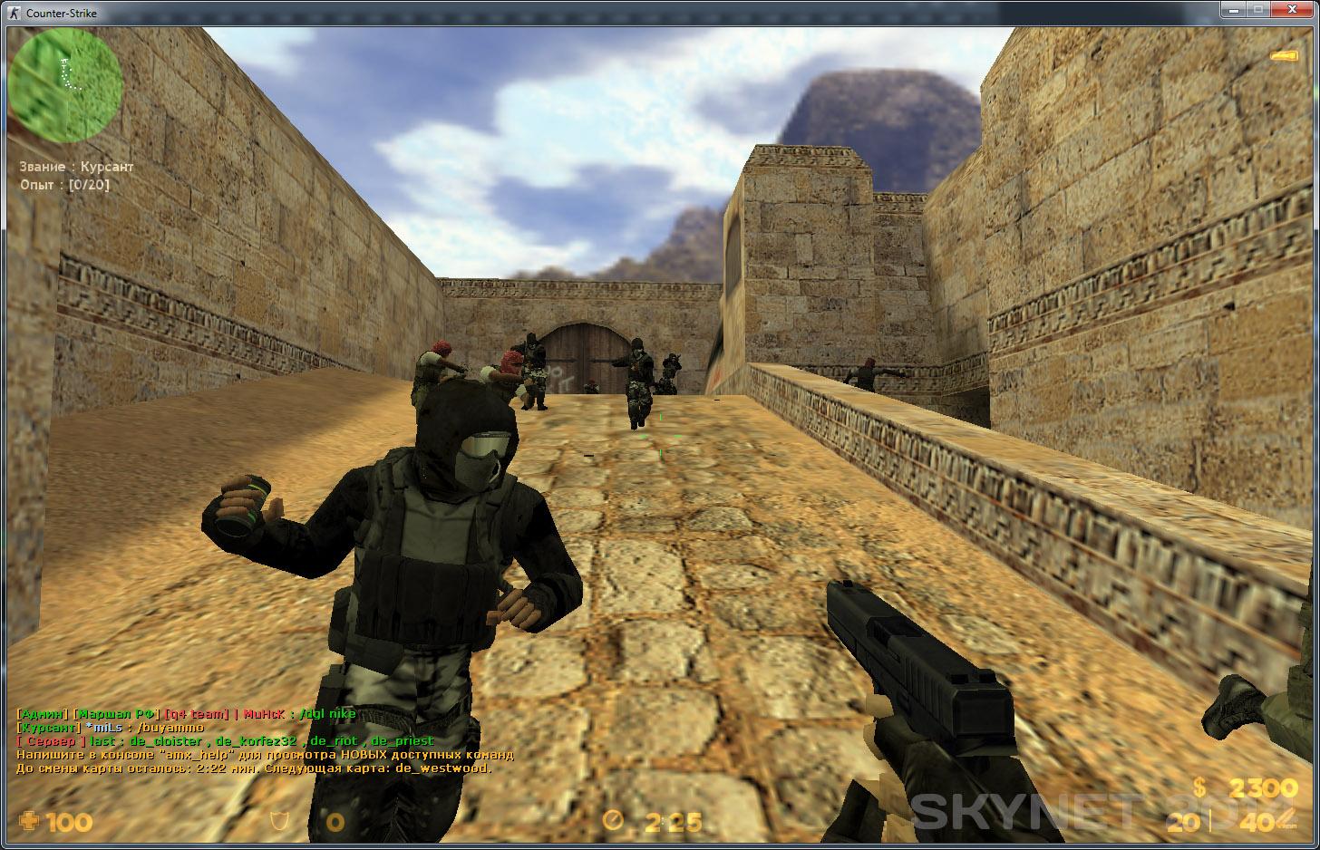 Counter-Strike 1.6 SkyNet 2014: Новые скины моделей игроков.