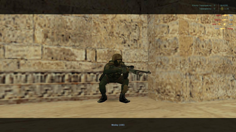 В качестве основы сборки Counter-Strike 1.6 Steam Version Update, был взят